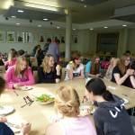 In der Cafeteria - Foto: A. Reiss