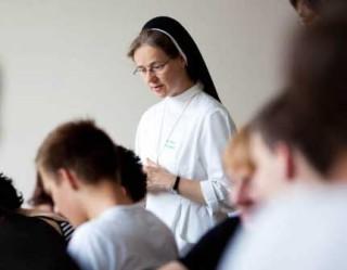 Eine Klosterführung mit Sr. Maria Elisabeth