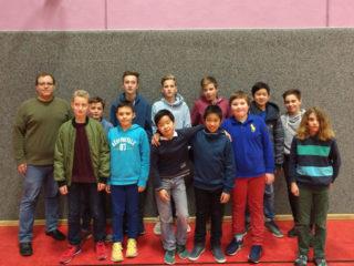 Engelsburger Schach-Mannschaften beim Pokalturnier in Bad Hersfeld
