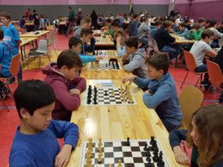 Runde 1 in der WKIII: Engelsburg 1 gegen Engelsburg 2