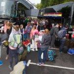 Ankunft im Feriendorf. Foto: SMMP/Bock