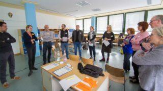 """Diskussion im Workshop """"Lernen ist das, was uns zustößt, während wir uns geerade etwas ganz anderes vorgenommen haben."""" Foto: SMMP/Ulrich Bock"""