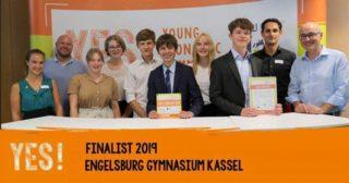 2019 stand die Schülergruppe mit ihrem Projekt Integra bereits im Bundesfinale des Young Economic Summit-Wettbewerbes. Foto: Young Economic Summit